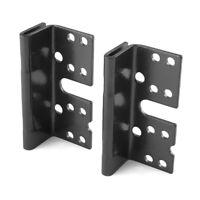 """Headboard / Footboard Bed Rail Hanger Bracket For 2"""" Double Hook Plate 3-3/4"""""""