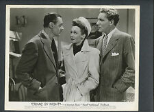 JANE WYMAN AS A DETECTIVE - 1944 CRIME BY NIGHT