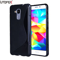 coque silicone huawei honor 5x noir