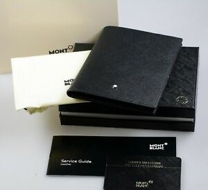 MONTBLANC Sartorial Leder Pass Etui leather passport holder 113232