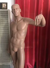 Restored Vintage Rootstein Male Mannequin Philip From Laid Back Larry Collection