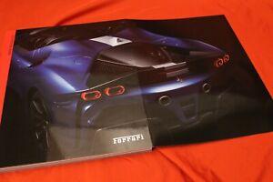 "2021 Ferrari Yearbook 2020 Magazine Issue ""49"" SF90 Spider Omologata Roma PortoM"