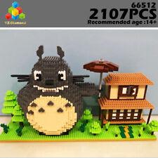 YZ Diamond Blocks Spirited Away My Neighbor Building Bricks Totoro Cat 2107 PCS