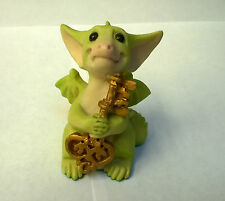 Pocket Dragons The Key To My Heart Figure  Rare Piece 1992 Mint Condition loose