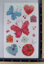 Mrs Grossman/'s LOVEY BUGS Stickers SCENE ONE LOVE LADYBUGS W HEARTS NEW