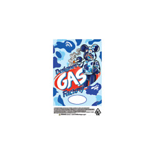 Designer Gas Factory Cali Tin Labels Mylar Bag Stickers