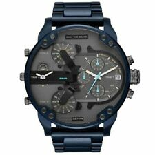Luxury Chronograph Cool Blue Limited New Diesel Mr.Daddy 2.0 Mens Watch Quartz