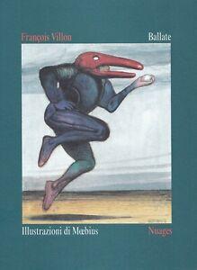 Ballate - François Villon - ilustraciones de Moebius