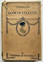 1922 Cassells Book Of Etiquette by A Woman Of The World free EXPRESS W/Wide
