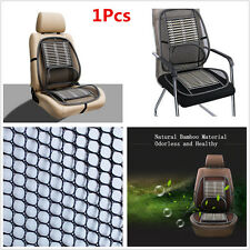 1pcs Mesh Bamboo Lumbar Back Support Brace Pad Cool Auto Car Seat Chair Cushion