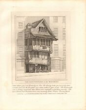 1798 ANTIQUE PRINT- ARCHITECTURE- LONDON - THE OLD FOUNTAIN IN THE MINORIES