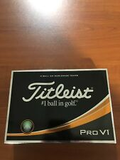 Brand New Titleist Pro V1 Dozen Custom All #1