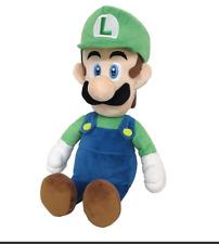 "Super Mario Bros. LUIGI Plush Doll Stuffed Toy 15"" Kid Xmas Gift"