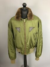 USAAF US ARMY AIR FORCE B-15F Jacket - XXL - Green - Great Condition - Mens