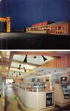 Columbus Ohio Emils Steer Inn Drive In Multiview Vintage Postcard K50274