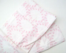 Pottery Barn Kids Multi Colors Pink Evelyn Vine Cotton Standard Pillowcase New