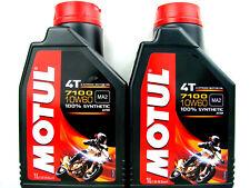 MOTUL 10W60 10W-60 7100 Aceite para Motos 4Takt Ester Sintético 2Liter 109384
