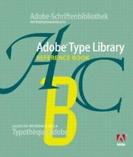 Adobe Type Library Reference Book by Inc. Staff Adobe Systems (2002, Paperback)
