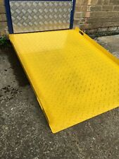 More details for steel chequer plate  ramp / shipping container/ disability / pallet truck access