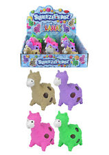 Llama Mesh Ball with Beads Squishy Squeeze Stress Toy for Kids - PACK OF 12