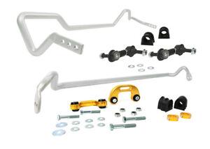 Whiteline BSK007 Sway Bar Kit Front & Rear fits Subaru WRX & STI Sedan 2002-07