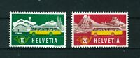 Switzerland 1953 Mobile Post Office full set of stamps. MNH. Sg 547-548