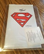 1993 DC Comics Superman #500 signed by Jerry Ordway HTF RARE Death of Superman