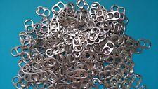 300 CAPSULES DE CANETTES argentées en aluminium, loisirs créatifs