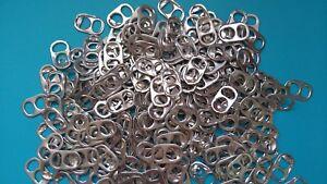 100 CAPSULES DE CANETTES argentées en aluminium, loisirs créatifs