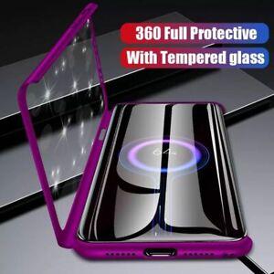 Schutz Hülle für Samsung A20e A40 / A50 / A70 (2019) Full Cover 360° Handy Case