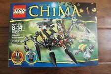 NEW Lego LEGENDS OF CHIMA Sparratus Spider Stalker 70130 292pcs 2 Minifigures