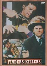 FINDERS KILLERS DVD Donald O'Brien Mario Brega Spaghetti Western Gordon Mitchell