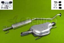 Komplette Auspuffanlage + Montagesatz OPEL ASTRA G 1.4 1.6 Fließheck 1998-2005