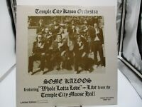 TEMPLE CITY KAZOO ORCHESTRA: Some Kazoos SPLATTERED COLORED Rhino LP VG+ v VG+