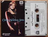 OLIVIA NEWTON-JOHN (GMI 1054) RARE UNOFFICIAL CASSETTE TAPE VG COND