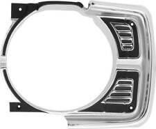 1969 Dodge Dart Headlamp Bezel; LH
