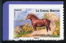 STAMP TIMBRE FRANCE AUTOADHESIF N° 813 ** FAUNE / CHEVAUX DE TRAIT DE NOS REGION