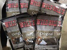7 Lg. Bags Wild Bills Beef Jerky