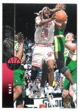 Steve Smith 1994 Upper Deck Miami Heat insert Basketball Card