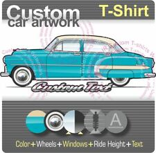 Custom T-shirt for 53 1953 Chevy Chevrolet DeLuxe Styleline Bel Air 210 Fans