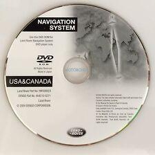 2005 -2006 Range Rover Sport HSE Navigation DVD Disk CD 05 06 Land ROVER OEM MAP