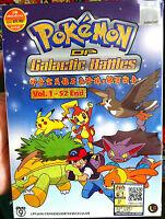 Pokemon (Season 12): DP Galactic Battles (VOL.1 - 52 End) ~ English Version ~