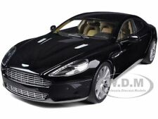 ASTON MARTIN RAPIDE BLACK 1/18 DIECAST MODEL CAR BY AUTOART 70216