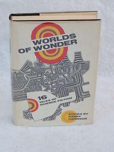 Harry Harrison WORLDS OF WONDER 1st edition Doubleday 1969 HC/DJ