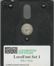 LOCOFONT SET 1 Disc For AMSTRAD PCW 8256 & 8512 Computers