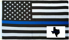 Wholesale Combo 3x5 Police USA Memorial Flag Texas Thin Blue Line Decal Sticker