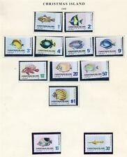 Christmas Islands 1968 to 1982 Birds 4 Definitives mint n.h.(2016/04/23/#01)