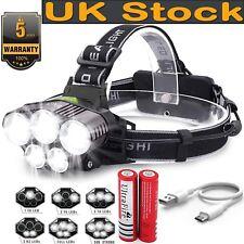 90000lm Rechargeable T6 LED Headlamp Headlight Light Flashlight HEAD Torch Lamp