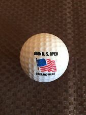PING GOLF BALL-RED/WHITE PING #1.1985 U.S. OPEN AT OAKLAND HILLS COUNTRY CLUB..