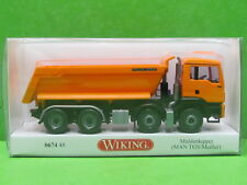 1:87 Wiking 067448 Muldenkipper (MAN TGS Euro 6/Meiller) - orange